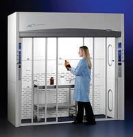 Floor-Mounted Lab Hoods accommodate oversized apparatus.
