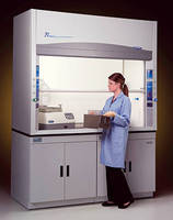 Laboratory Fume Hoods have chemical-resistant fiberglass liners.