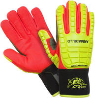 Industrial Impact Protection Gloves offer dexterity and comfort.