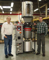Vacuum Dryer uses load cells to optimize efficiency.