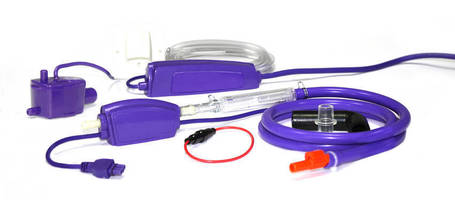 Mini-Split A/C Condensate Pump combines capacity, compact design.