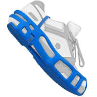 Foot Grounder converts non-ESD footwear to ESD footwear.