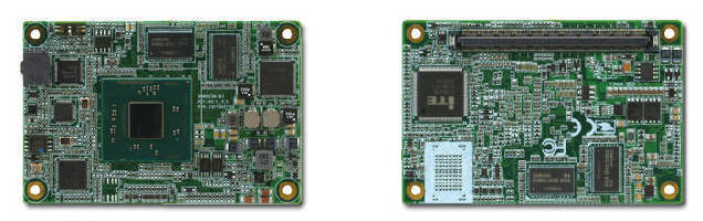Type 10 COM Express Module features Intel