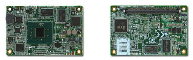 Type 10 COM Express Module features Intel® Atom(TM) processor.