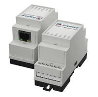 Gateway connects M-Bus measuring devices to Modbus-TCP.