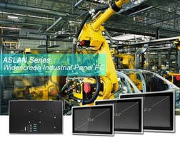 Multi-Touch Widescreen Panel PCs serve Industry 4.0 applications.