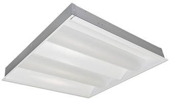 Recessed LED Lensed Luminaires produce glare-free lighting.