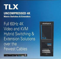 Thinklogical Demonstrates Uncompressed Full 4K @ 60Hz Video Extension (4096 x 2160 Resolution, 4-4-4 Color Depth) at InfoComm Connections San Jose