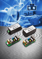 AC-DC Power Supplies support medical applications.