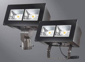 Outdoor LED Floodlight Luminaire delivers long-term reliability.