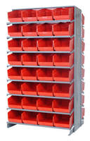 Pick Rack increases storage capacity with 6 in. bin.