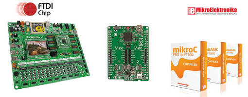 MikroElektronika & FTDI Chip Introduce Multi-Faceted FT90X MCU Development Platform