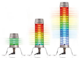 Multimodal All-LED Tower Light offer 95 dB buzzer option.