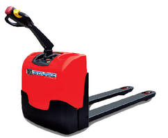 Electric Pallet Truck provides 4,000 lb capacity.