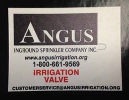 Irrigation Tags support custom printing options.