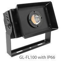 Outdoor Flood Light features 10,000 lm CoB LED.