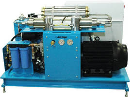 Waterjet Intensifier Pump suits shops with limited power.