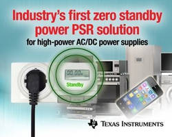 PSR Chipset achieves zero standby power consumption.
