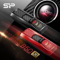 USB 3.0 Flash Drive has sport car-inspired design, functionality.