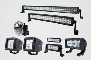 LED Vehicle Lights combine bright illumination, 9-180 W draw.