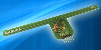 UHF RFID IC Evaluation Board fosters battery-free development.