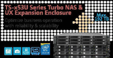 Rackmount NAS Systems feature expansion enclosures.