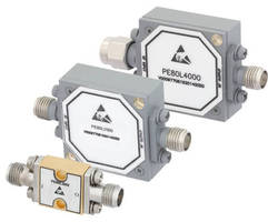 Broadband Coaxial Limiters protect RF receiver components.