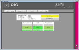 GOEPEL Electronics Inline AXOI System Communicates with ASYS OIC Software