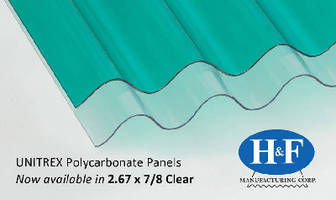 Polycarbonate Panels are virtually unbreakable.