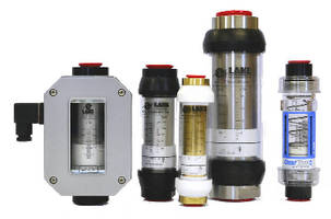 Variable Area Flow Meters provide 2% accuracy.