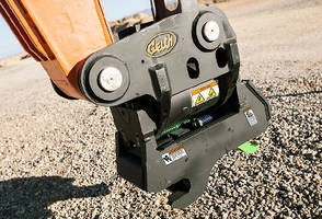 Tilting Couplers offer up to 180 deg of rotation side-to-side.
