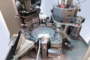 Capsule Filling Machine processes 2,600 capsules per minute.