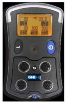 Portable 5-Gas Monitor detects VOCs through PID technology.