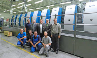 Fifth KBA Rapida 106 with Twin Coaters for Slovakian Grafobal Group