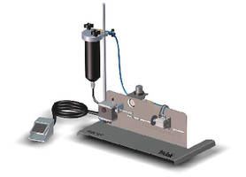Syringe Filler handles fluid viscosities up to 60,000 cP.