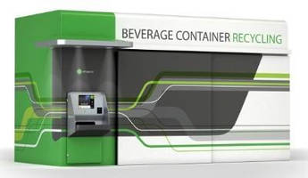 Reverse Vending Machine offers bulk feed handling.