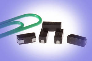 Surface Mount Inductors offer inductance range of 1-100 µH.