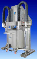 Discharge System minimizes required cleaning effort.