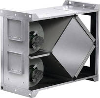 Energy Recovery Ventilator reduces building heating/cooling loads.