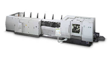 CNC End Machining Center offers continuous production.
