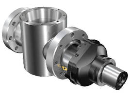 Boring Tool System supports seal ring groove machining.