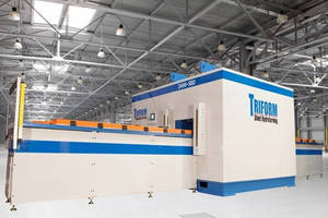 Large-Format Triform Fluid Cell Sheet Hydroforming Press Installed at Aerospace Manufacturer