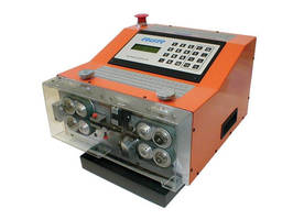 CS800 Wire Cut and Strip Machine Performs Full and Partial Strips