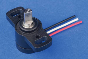 Compact Angle Sensors are designed for long life and reliability.