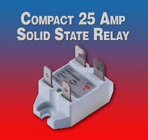 Solid State Relays suit confined space applications.