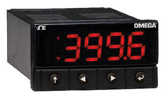 Temperature and Process Controllers offer 20 samples/sec.