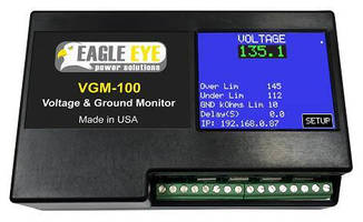 Voltage/Ground Fault Monitors promote battery protection and life.