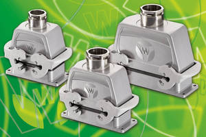 Rectangular Connectors support use in harsh environments.