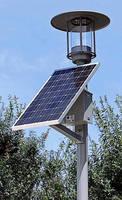 LED Solar Lighting Systems have 100% grid-independent design.