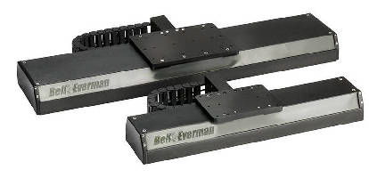 Sealed Linear Stage handles light loads.